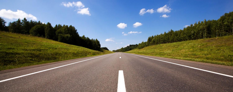 Road-in-Summer